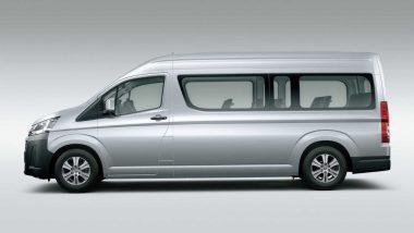 Toyota ने भारतात लॉन्च केली 14 सीटर MPV Hiace, जाणून घ्या किंमतीसह खासियत