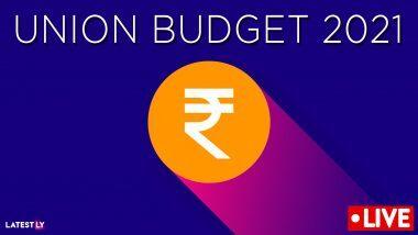 Union Budget 2021 Live Streaming: केंद्रीय अर्थसंकल्पाच्या Doordarshan, DD News सह युट्युब लिंक वरील थेट प्रक्षेपण  इथे पहा!