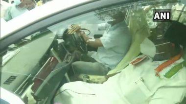 Puducherry Trust Vote: पुदुच्चेरीत मुख्यमंत्री V.Narayanasamy च्या नेतृत्वाखालील काँग्रेसचं सरकार कोसळलं