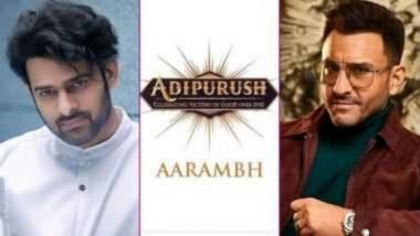 Adipurush: प्रभास आणि सैफ अली खानच्या मेगा बजेट 'आदिपुरुष' चित्रपटाच्या शुटिंगला सुरूवात; अभिनेत्याने सोशल मीडियावर दिली माहिती