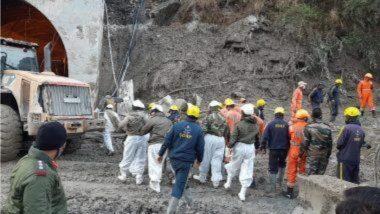 Uttarakhand Glacier Burst Updates: उत्तराखंडमधील तपोवन बोगद्याजवळ बचावकार्य सुरू; 170 लोक बेपत्ता, तर आतापर्यंत 14 जणांचे मृतदेह ताब्यात