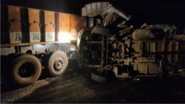 Andhra Pradesh Accident: आंध्र प्रदेशच्या कुर्नूल जिल्ह्यात बस आणि ट्रकमध्ये जोरदार धडक; अपघातात 13 जणांचा मृत्यू, तर 4 जण जखमी