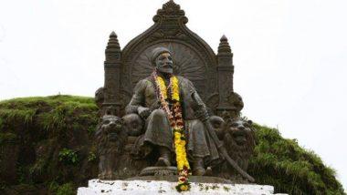 Shiv Jayanti 2021: सातारा शहर विक्रीसाठी ठेवलेल्या छत्रपती शिवाजी महाराजांच्या प्रतिमा, पुतळे आणि भगव्या झेंड्यांनी सजले