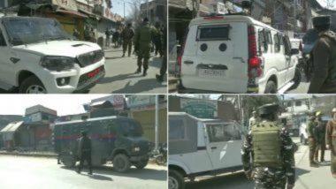 Terror Attack in Jammu and Kashmir: जम्मू-काश्मीरच्या श्रीनगर जिल्ह्यातील बरझुला भागात पोलिसांवर दहशतवाद्यांचा हल्ला; 2 कर्मचारी जखमी