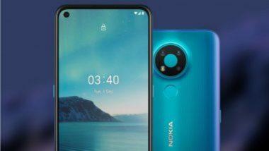 Nokia 3.4 आज पहिल्यांदा विक्रीसाठी उपलब्ध होणार; किंमत आणि स्पेसिफिकेशन्स जाणून घ्या