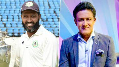 Wasim Jaffer यांच्यावर संघ निवडीत मुस्लिम खेळाडूंना प्राधान्य दिल्याचा आरोप; अनिल कुंबळे, इरफान पठाणसह भारतीय क्रिकेटपटूंचा पाठिंबा