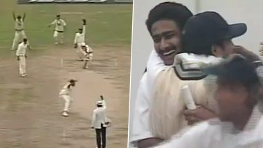 On This Day in 1999: जेव्हा अनिल कुंबळेने गुंडाळला पाकिस्तानचा डाव, पूर्ण केले 'परफेक्ट 10', पहा 'ती' अविस्मरणीय ऐतिहासिक घटना (Watch Video)