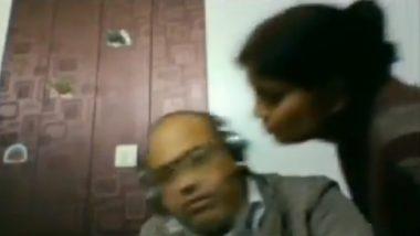 Wife Try To Kiss Husband: लाईव्ह मीटिंगमध्ये बायकोला हवा नवऱ्याचा मुका, 'Work From Home' धोक्यात; Video  व्हायरल