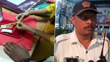 Mumbai: वाहतुक पोलिसांच्या कामगिरीचे कौतुक; रिक्षात विसरलेली कॅश आणि 13 तोळे सोन्याने भरलेली बॅग केली परत