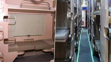 भारतीय रेल्वे ने आणला नवा AC 3 Tier Economy Class Coach; पहा जगातला सर्वात स्वस्त, आरामदायी कोच आहे कसा?