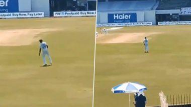 IND vs ENG 2nd Test 2021: Ravichandran Ashwin याला क्रिकेटच्या मैदानावर आवरला नाही डान्स करण्याचा मोह (Watch Video)