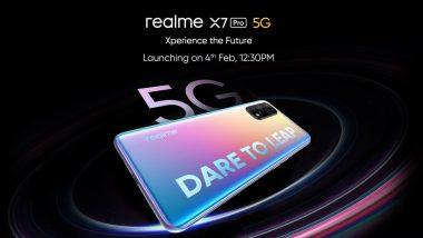 Realme X7 5G आणि Realme X7 Pro 5G स्मार्टफोन आज लाँच होणार; जाणून घ्या संभाव्य किंमत आणि स्पेसिफिकेशन्स