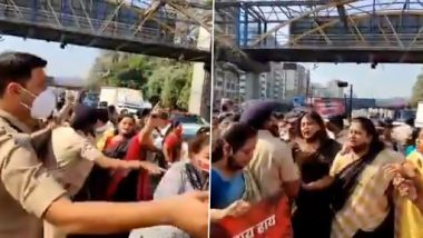 Pooja Chavan Suicide Case: भाजप कार्यकर्त्यांकडून कळंबोली येथे मुंबई-पुणे द्रुतगती महामार्ग रोखण्याचा प्रयत्न; महापौरांसहीत 35 आंदोलक पोलिसांच्या ताब्यात