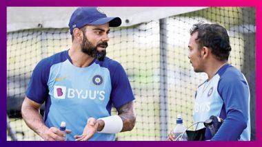 जेव्हा विराट मराठीत बोलतो... पृथ्वी शॉ ने सांगितला भारतीय कर्णधारचा मजेदार किस्सा ( Watch Video )