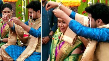 Majha Hoshil Na मालिकेतील सई आणि आदित्य चा Valentine's Day दिवशी उडणार लग्नाचा बार, Watch Video