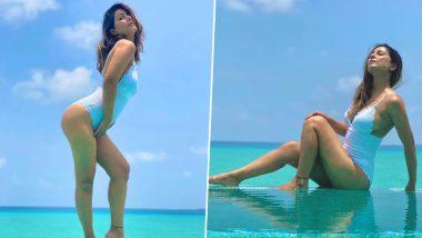 Hina Khan Hot Bikini Photos: हिना खान च्या बिकिनीमधील हॉट फोटोजने सोशल मिडियावर लावली आग, सेक्सी पोज पाहून चाहते घायाळ