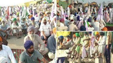 नवी दिल्ली: Samyukt Kisan Morcha च्या वतीने सिंघू बोर्डरवर आज 12 तासांचा 'भारत बंद' आंदोलन