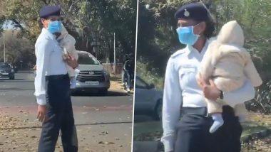 Chandigarh: बाळाला कडेवर घेऊन ट्रॅफिक कंट्रोल करणाऱ्या पोलीस महिलेला महाराष्ट्राचे गृहमंत्री अनिल देशमुख यांचा त्रिवार सलाम (Watch Video)