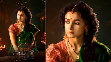 Alia Bhatt First Look in RRR: बॉलिवूड अभिनेत्री आलिया भट्ट च्या वाढदिवसानिमित्त दिग्दर्शक SS Rajamouli ने शेअर केला Roudram Ranam Rudhiram चित्रपटातील अभिनेत्रीचा लूक