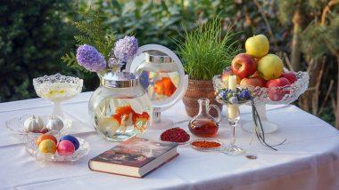 Haft-Sin Table in Nowruz 2021:  7 'S' म्हणजे काय? पारसी नवं वर्षाचे महत्व आणि पारंपरिक गोष्टींबद्दल जाणून घ्या अधिक