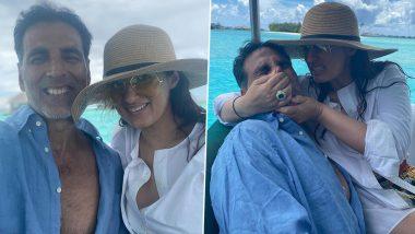 Twinkle Khanna ने पती Akshay Kumar सोबतचा फोटो शेअर करुन तमाम जोडप्यांना दिला घटस्फोट न होण्याचा मूलमंत्र