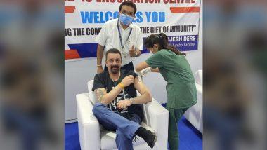 Sanjay Dutt ने घेतला Corona Vaccine चा पहिला डोस; अशा शब्दांत मानले डॉक्टरांचे आभार