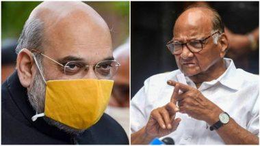 Shiv Sena On Amit Shah-Sharad Pawar Meeting: न झालेल्या भेटीवरून अमित शाह यांनी पतंग उडवले- शिवसेना