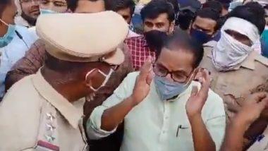 Anil Bonde and a Police Officer Talk in Vulgar Language: भाजप नेते अनिल बोंडे आणि पोलीस अधिकारी एकमेकांना म्हणाले 'कुत्रे'; पाहा काय घडलं नेमकं (Watch Video)