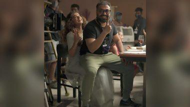 Anurag Kashyap आणि Taapsee Pannu ने आयकर विभागाच्या छाप्यानंतर चित्रपटाच्या सेटवरून दोघांचा एक खास फोटो केला शेअर