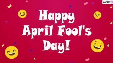 April Fool's Day 2021 Marathi Jokes: एप्रिल फुल डे निमित्त Funny Messages, Images, GIf's शेअर करुन द्या मित्रांना गंमतीशीर शुभेच्छा!