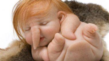 Fact Check: गणपती सारखा चेहरा असणाऱ्या बाळाचा फोटो सोशल मीडियात तुफान व्हायरल, जाणून घ्या सत्यता