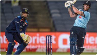 IND vs ENG 2nd ODI 2021: दबावात बेन स्टोक्सचे21वे अर्धशतक, जॉनी बेअरस्टो सोबत केली शतकी भागीदारी