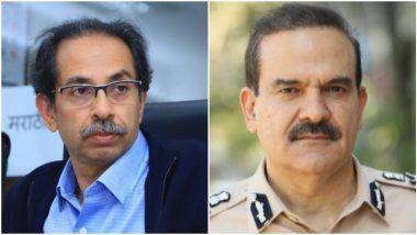 Sachin Vaze Case: पोलीस आयुक्त Parambir Singh मुख्यमंत्री उद्धव ठाकरे यांच्या भेटीस; मुंबईला भेटू शकतात नवे पोलीस आयुक्त, 'या' अधिकाऱ्यांच्या नावाची चर्चा