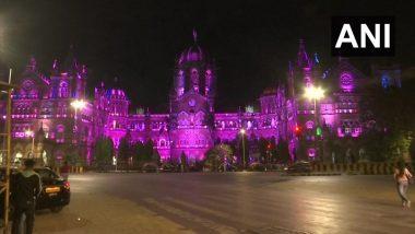 Women's Day: जागतिक महिला दिनानिमित्त मुंबईतील CSMT रेल्वे स्थानकाला रोषणाई, पहा फोटो