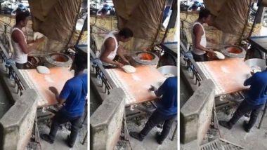 Delhi: दिल्लीत रोटी बनवताना त्यावर थुंकत असल्याचा किळसवाणा प्रकार सोशल मीडियात व्हायरल (Watch Video)
