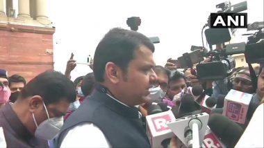 Devendra Fadnavis at MHA: महाराष्ट्र पोलीस अधिकाऱ्यांच्या बदली प्रकरणांची चौकशी सीबीआयद्वारे करा, अन्यथा कोर्टात जाऊ- देवेंद्र फडणवीस