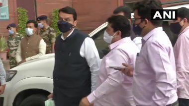 Devendra Fadnavis at MHA: भाजप नेते देवेंद्र फडणवीस दिल्लीतील केंद्रीय गृह सचिवांच्या भेटीस