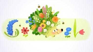 Spring Season 2021 च्या स्वागतासाठी Google चे खास रंगीबेरंगी Doodle