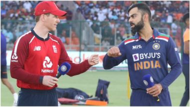 IND vs ENG 3rd T20I 2021: हिटमॅन Rohit Sharmaतिसऱ्या टी-20 साठी मैदानात; इयन मॉर्गनने टॉस जिंकला, टीम इंडियाची बॅटिंग