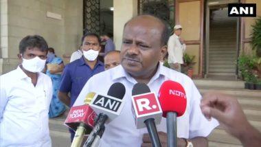 HD Kumaraswamy On  Boundary Issue: सीमाप्रश्नात कोणीही हस्तक्षेप करु शकत नाही- कर्नाटकचे माजी मुख्यमंत्री