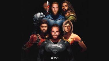 ICC ची Justice League; केन विल्यम्सन बनला Superman तर Virat Kohli 'या' अवतारात, पहा मजेशीर Tweet