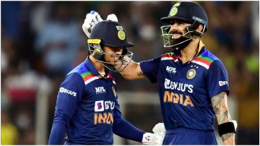 IND vs ENG 2nd T20I 2021: नवोदित Ishan Kishan, विराट कोहली यांचा अर्धशतकी तडाखा, टीम इंडियाची मालिकेत 1-1ने बरोबरी