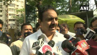 गृहमंत्री Anil Deshmukh यांचा राजीनामा घेण्याचा प्रश्नच येत नाही; दिल्लीत NCP नेत्यांच्या बैठकीनंतर जयंत पाटील यांचे स्पष्टीकरण