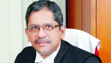 Justice NV Ramana यांची नवे Chief Justice of India म्हणून नियुक्ती; 24 एप्रिल पासून स्वीकारणार जबाबदारी