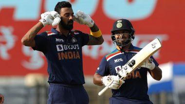 IND vs ENG 2nd ODI 2021: शतकी खेळीसह KL Rahul ने टीकाकारांची बोलती बंद, आपल्या खास सेलिब्रेशनने सर्वाना आवाज बंद करण्याचा दिला संदेश