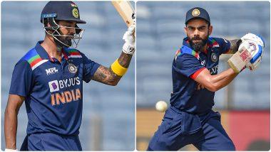 IND vs ENG 2nd ODI 2021: केएल राहुलचे धमाकेदार शतक, विराट-पंतचा अर्धशतकी तडाखा; भारताचे इंग्लंडला विजयासाठी 337 धावांचतगडं आव्हान