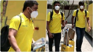 IPL 2021: MS Dhoni याची 'येलो आर्मी'चेन्नईहून मुंबईकडे रवाना, दिल्ली कॅपिटल्सविरुद्ध वानखेडे येथे होणार CSK ची भिडत
