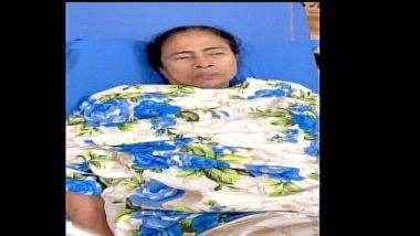 Mamata Banerjee's Video:  ममता बॅनर्जी यांचे समर्थकांना शांतता राखण्याचे अवाहन; रुग्णालयातून व्हिडिओ प्रसिद्ध केला