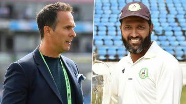'Mumbai Indians टीम इंडियापेक्षा चांगला टी-20 संघ', Michael Vaughan यांच्या ट्विटवर Wasim Jaffer यांच्याकडून कडक प्रत्युत्तर, पहा ट्विट