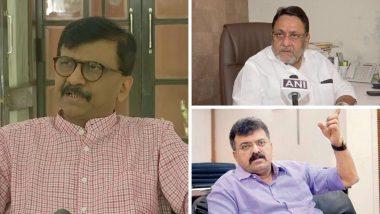 Sanjay Raut  यांच्या 'सामना' तील रोखठोक वर NCP मधून Nawab Malik, Jitendra Awhad ते Ajit Pawar यांची अशी प्रतिक्रिया